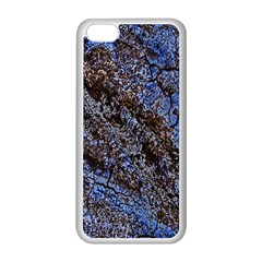 Cracked Mud And Sand Abstract Apple Iphone 5c Seamless Case (white)