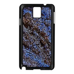 Cracked Mud And Sand Abstract Samsung Galaxy Note 3 N9005 Case (black)
