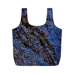 Cracked Mud And Sand Abstract Full Print Recycle Bags (M)