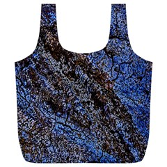 Cracked Mud And Sand Abstract Full Print Recycle Bags (l)