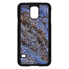 Cracked Mud And Sand Abstract Samsung Galaxy S5 Case (Black)