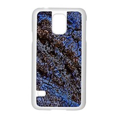 Cracked Mud And Sand Abstract Samsung Galaxy S5 Case (white)