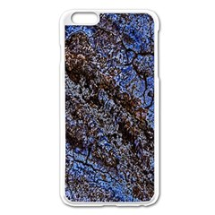 Cracked Mud And Sand Abstract Apple Iphone 6 Plus/6s Plus Enamel White Case