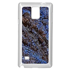 Cracked Mud And Sand Abstract Samsung Galaxy Note 4 Case (White)
