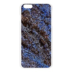 Cracked Mud And Sand Abstract Apple Seamless iPhone 6 Plus/6S Plus Case (Transparent)