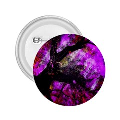Pink Abstract Tree 2.25  Buttons