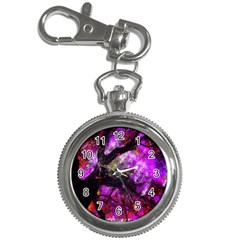 Pink Abstract Tree Key Chain Watches