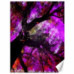 Pink Abstract Tree Canvas 36  x 48