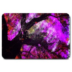 Pink Abstract Tree Large Doormat
