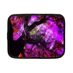 Pink Abstract Tree Netbook Case (small)