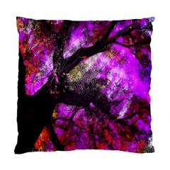 Pink Abstract Tree Standard Cushion Case (One Side)