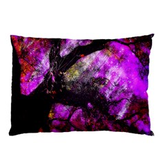 Pink Abstract Tree Pillow Case