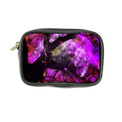Pink Abstract Tree Coin Purse
