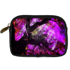 Pink Abstract Tree Digital Camera Cases