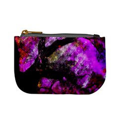 Pink Abstract Tree Mini Coin Purses