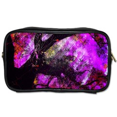 Pink Abstract Tree Toiletries Bags 2-Side