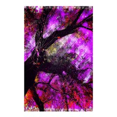 Pink Abstract Tree Shower Curtain 48  x 72  (Small)