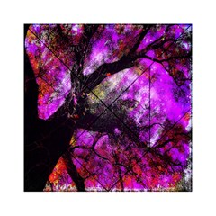 Pink Abstract Tree Acrylic Tangram Puzzle (6  x 6 )