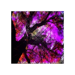 Pink Abstract Tree Acrylic Tangram Puzzle (4  X 4 )