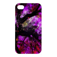 Pink Abstract Tree Apple iPhone 4/4S Premium Hardshell Case
