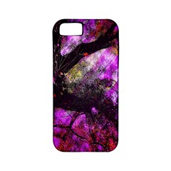 Pink Abstract Tree Apple iPhone 5 Classic Hardshell Case (PC+Silicone)