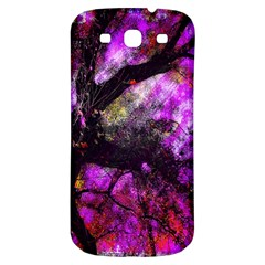 Pink Abstract Tree Samsung Galaxy S3 S Iii Classic Hardshell Back Case