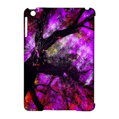 Pink Abstract Tree Apple Ipad Mini Hardshell Case (compatible With Smart Cover)