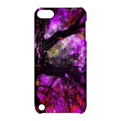 Pink Abstract Tree Apple iPod Touch 5 Hardshell Case with Stand