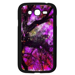 Pink Abstract Tree Samsung Galaxy Grand DUOS I9082 Case (Black)