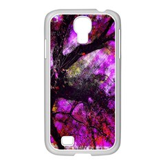 Pink Abstract Tree Samsung Galaxy S4 I9500/ I9505 Case (white)