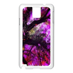 Pink Abstract Tree Samsung Galaxy Note 3 N9005 Case (white)