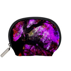 Pink Abstract Tree Accessory Pouches (small)