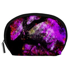 Pink Abstract Tree Accessory Pouches (Large)