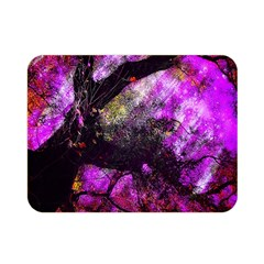 Pink Abstract Tree Double Sided Flano Blanket (Mini)