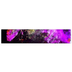 Pink Abstract Tree Flano Scarf (Small)