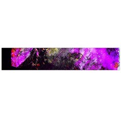 Pink Abstract Tree Flano Scarf (large)