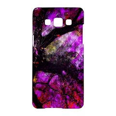 Pink Abstract Tree Samsung Galaxy A5 Hardshell Case