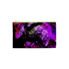 Pink Abstract Tree Cosmetic Bag (XS)