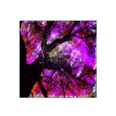 Pink Abstract Tree Satin Bandana Scarf