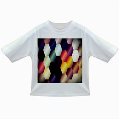 Colorful Hexagon Pattern Infant/toddler T Shirts
