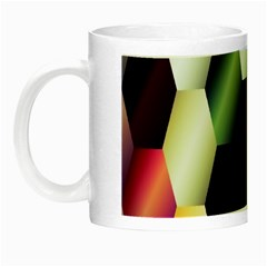 Colorful Hexagon Pattern Night Luminous Mugs