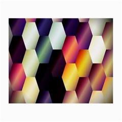 Colorful Hexagon Pattern Small Glasses Cloth