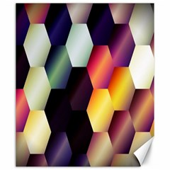 Colorful Hexagon Pattern Canvas 20  X 24
