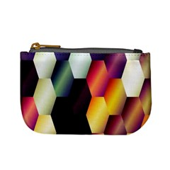 Colorful Hexagon Pattern Mini Coin Purses