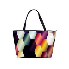 Colorful Hexagon Pattern Shoulder Handbags