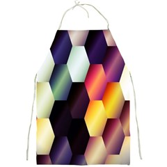 Colorful Hexagon Pattern Full Print Aprons