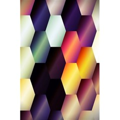 Colorful Hexagon Pattern 5.5  x 8.5  Notebooks