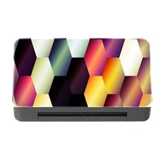 Colorful Hexagon Pattern Memory Card Reader With Cf