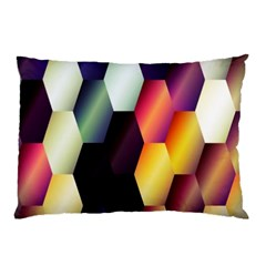 Colorful Hexagon Pattern Pillow Case (Two Sides)