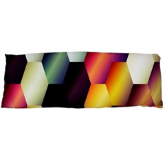 Colorful Hexagon Pattern Body Pillow Case (Dakimakura)
